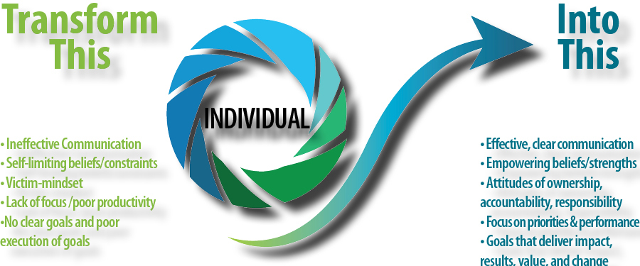 Transformation individuals assessment
